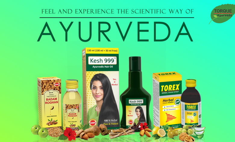 Uses of ayurvedic products in India
